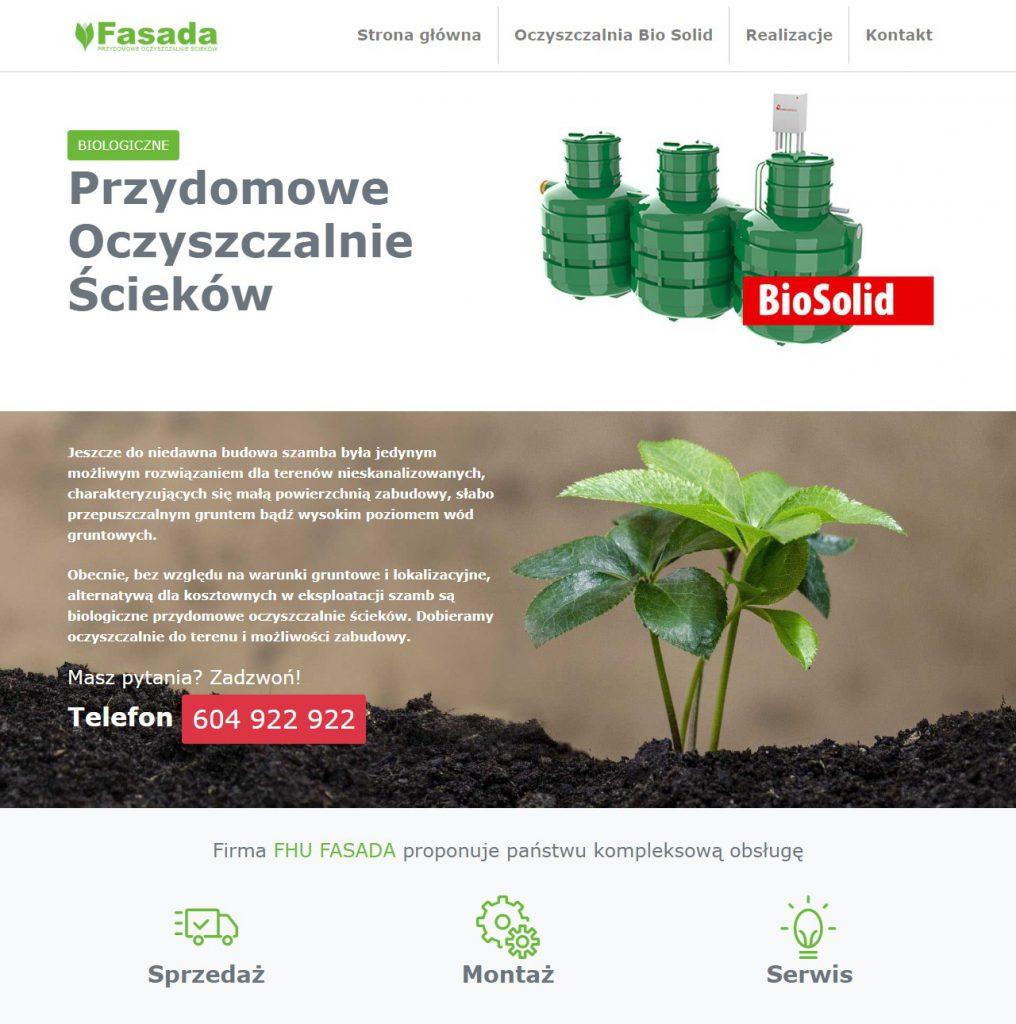 Fasada Firma Handlowo Usługowa